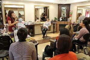 ОТЧЕТ №17 МАСТЕР-КЛАССА В ТИРАСПОЛЕ, САЛОН «Covalli» ОТ 30 СЕНТЯБРЯ 2015 ГОДА