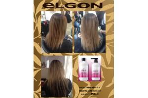 """ОТЧЕТ №43 мастер-класса ELGON, с-н """"Анжелика"""", Тирасполь. Как покрасить и одновременно вылечить волосы? Что такое процедура """"линкирования"""" волос?"""