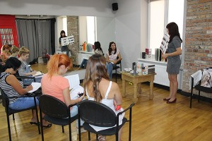 Mастер-класс в салоне Пудра, г.Тирасполь, 26 августа, 2015 года (1/3)