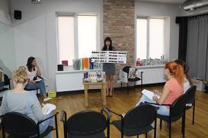 Mастер-класс в салоне Пудра, г.Тирасполь, 26 августа, 2015 года (2/3)
