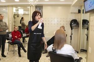 Кератиновое восстановление волос Ritualiss ELGON, мастер-класс в салоне MONACO, Тирасполь от 18.11.15