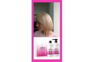Мастер-класс окрашивание и восстановление волос LINK-D одновременно