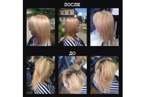 ОТЧЕТ № 48 мастер-класса ELGON в Рыбнице: Осветление и тонирование блонд