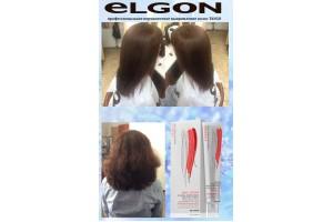 ОТЧЕТ № 47 мастер-класса ELGON: перманентное выпрямление волос Tango